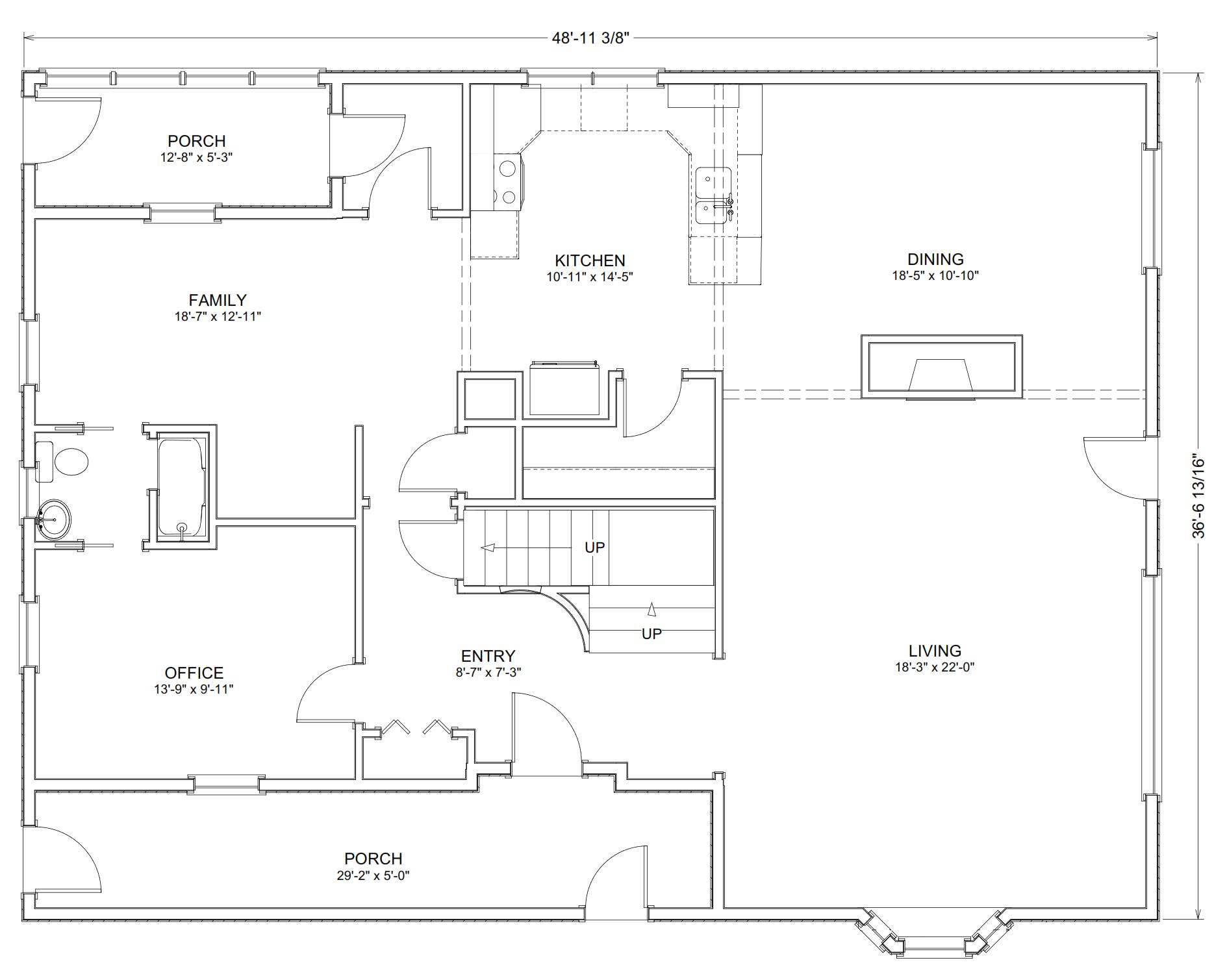 7 x 8 kitchen design