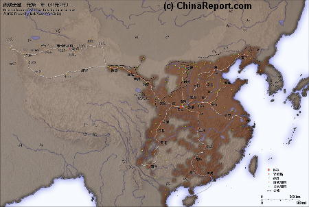 Click to go to Full Version Han Dynasty Empire & Connections Map !!