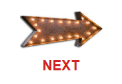 This is a neon sign marquee arrow light