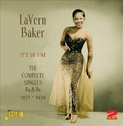 it is the album cover of a collection of vinyl singles released by the great Rock 'N' Roll and rhythm 'N' Blues  singer LaVern Baker featuring a foto of her from the 1950's