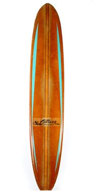 This is a beautiful vintage sixties surfboard