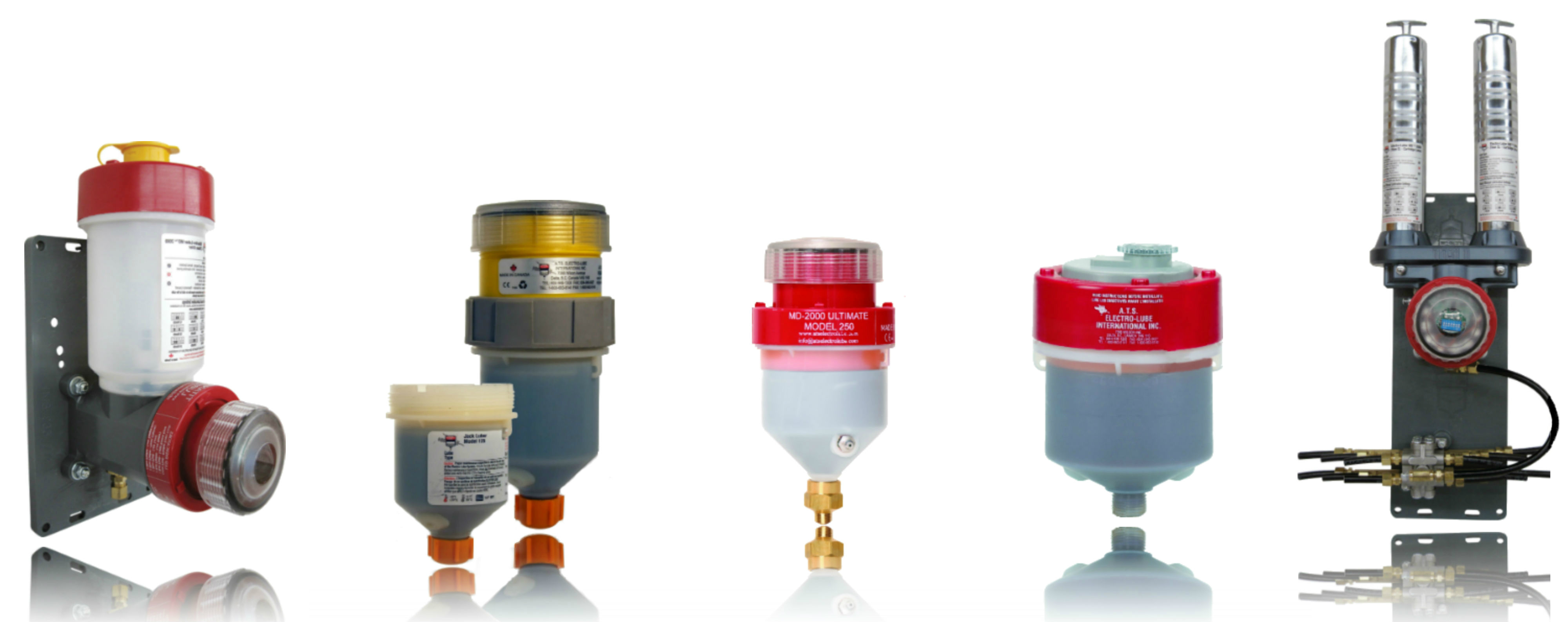The ATS Electro-Lube product line provides lubrication solutions for any industrial application. The Ultimate Luber, TItan luber and TItan Oiler are the most powerful automatic lubricators available, whilst the electro-luber and Jack luber are versatile for extreme lubrication conditions