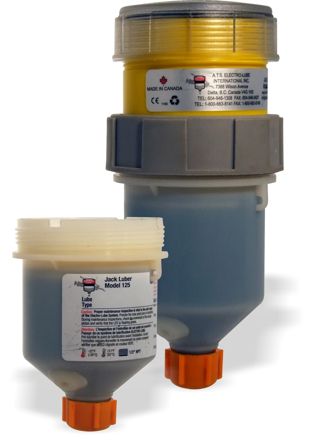 ATS Electro-luber jack luber is a motor driven ultimate lubricator with our patented jack screw technology