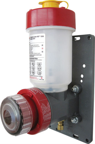 image of motor driven Titan Oiler lubricator