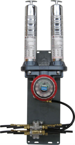 ATS Electro-lube's Titan CL Luber is a motor driven lubricator that comes equiped with grease cartridges