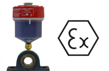 Link to related article on ATS electro-luber. ATS automatic lubricators is atex approved