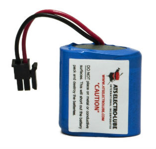 image of battery packs for ats lubricators