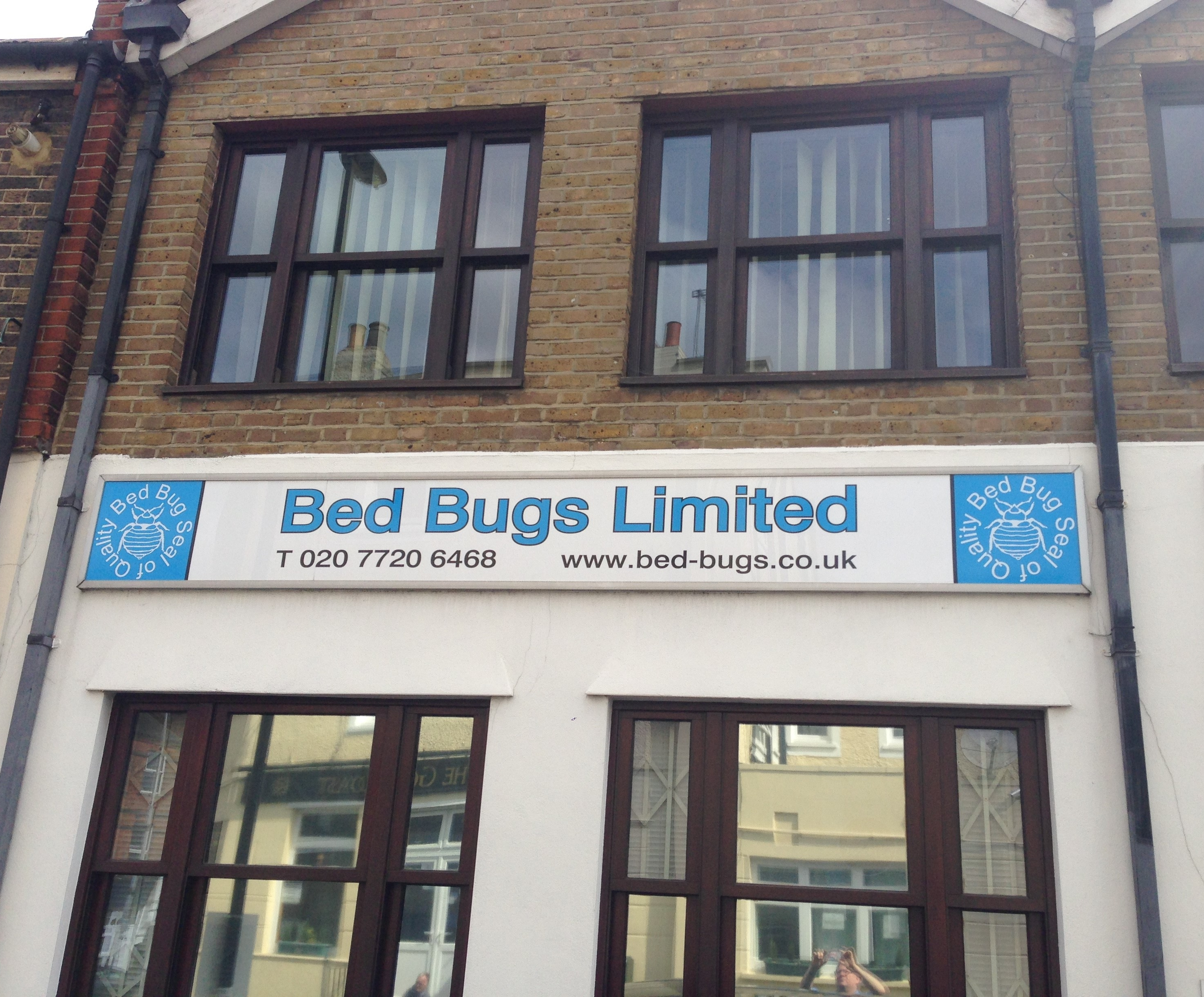 Bed Bugs Office outside view
