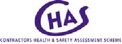 Bed Bugs Limited - contractors health and safety scheme (CHAS) logo