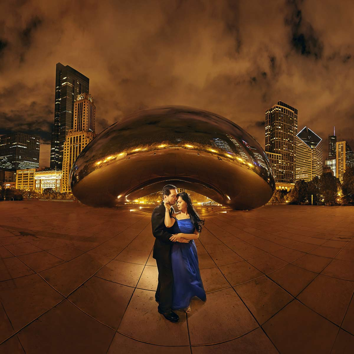 photograph by Benjamin Young III photography in chicago the bean