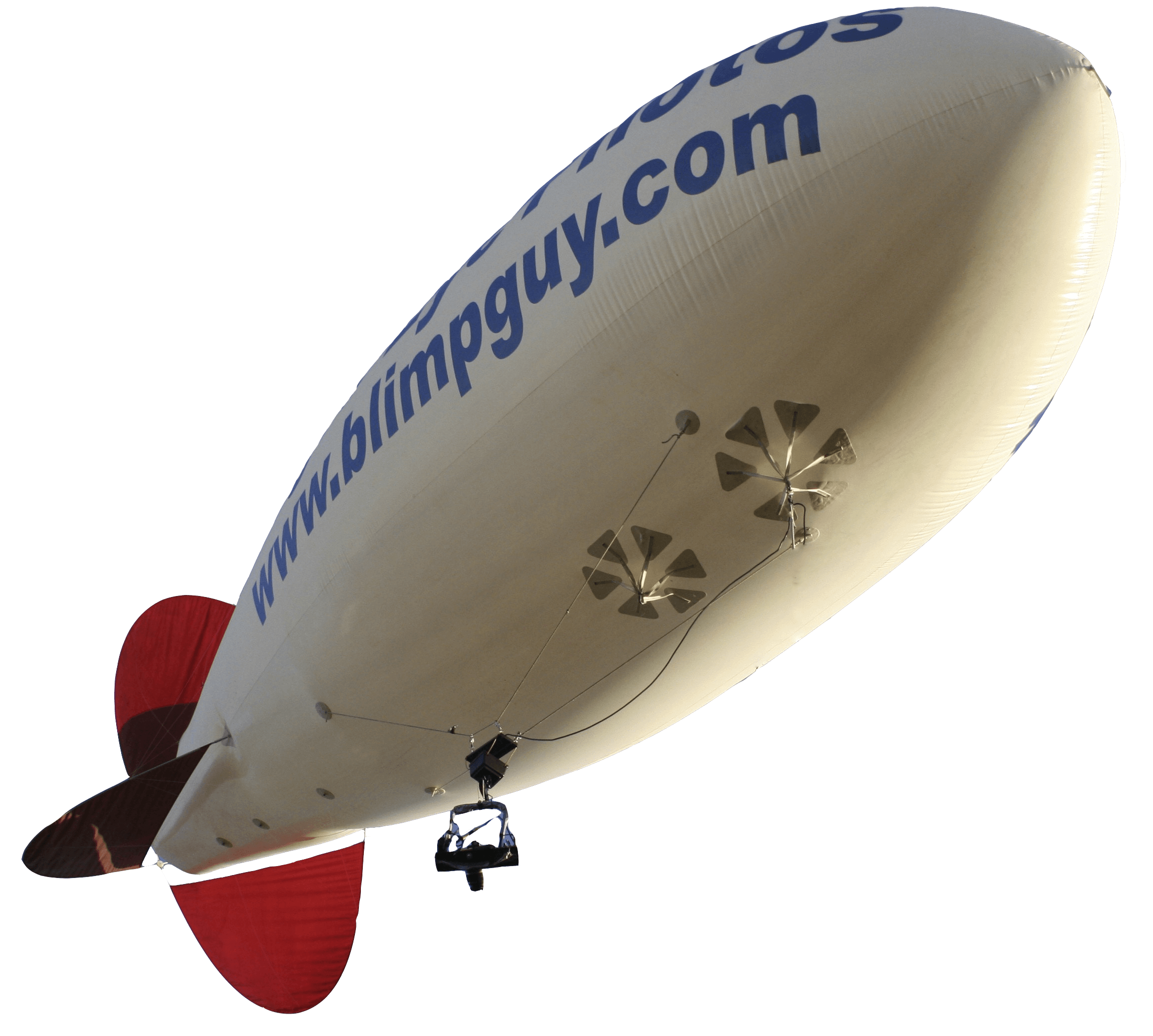 We use this blimp for aerial photos