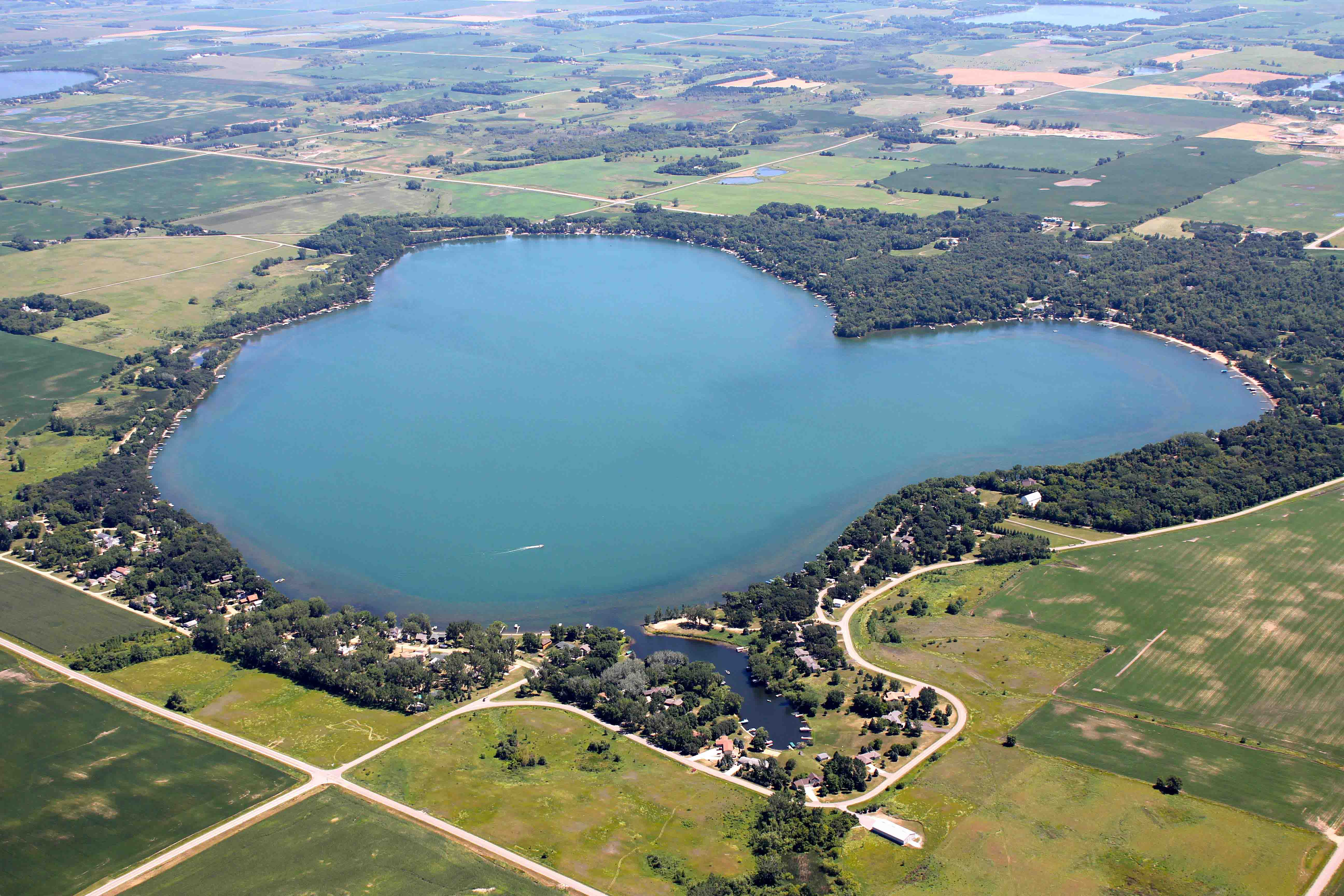 Lake Aerial Photography