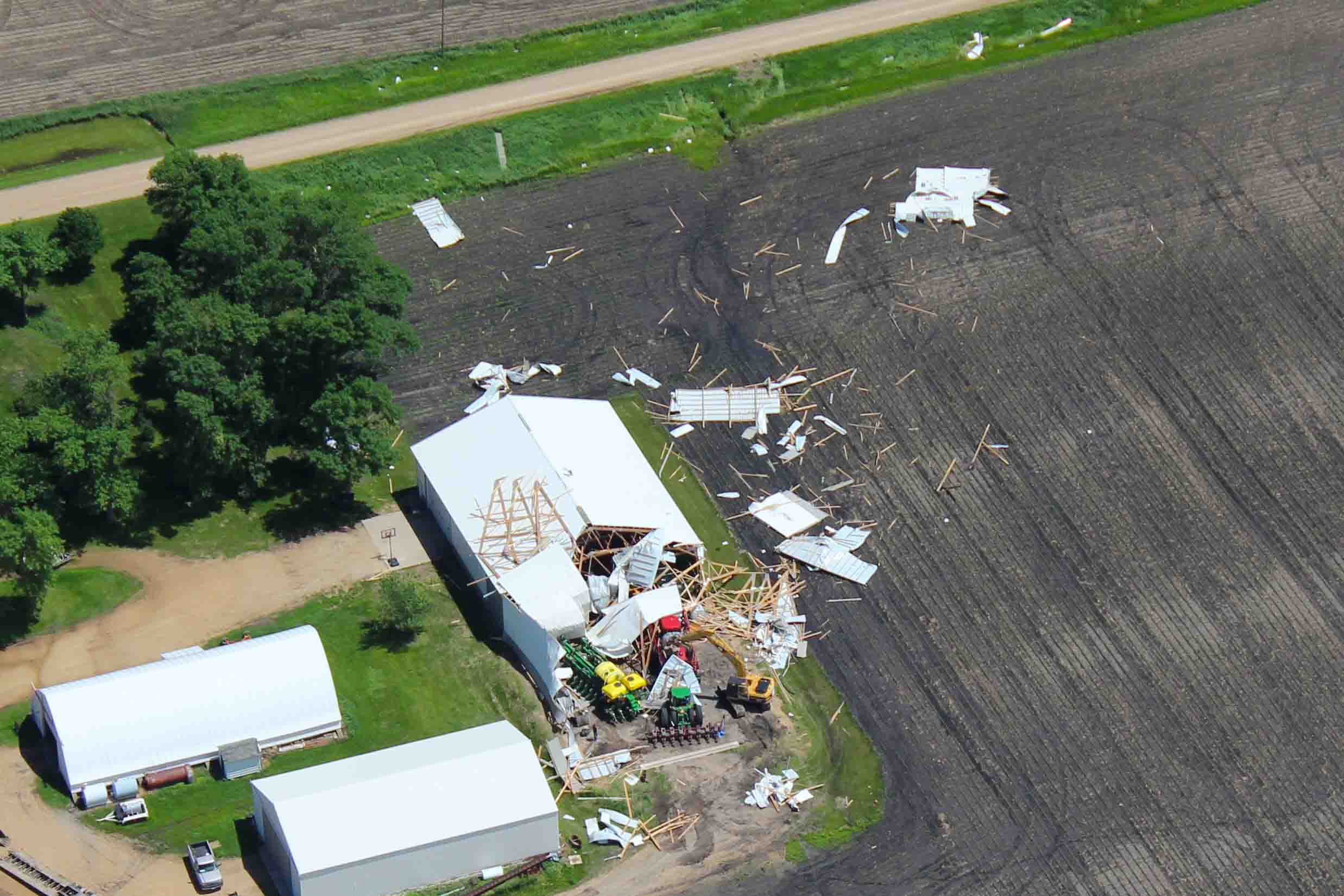 Insurance Claim Aerial Photos