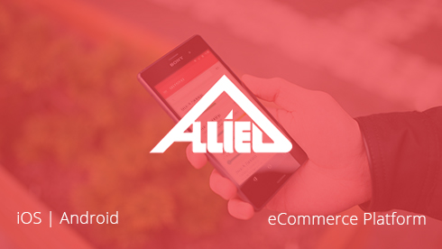iOS and Android mobile apps for Allied Building Services.