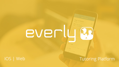 iOS mobile app for the Everly tutoring platform