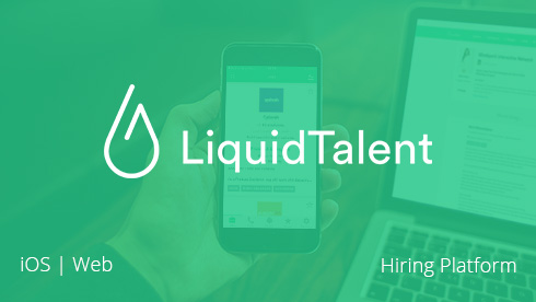 iOS mobile app for LiquidTalent