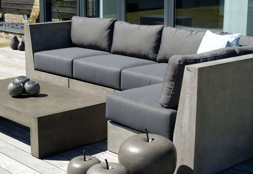 Outdoor furniture from cadix for Furniture zone near me