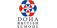 Doha British School logo and link to website