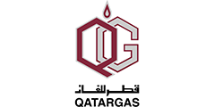 Qatar gas logo and link to website