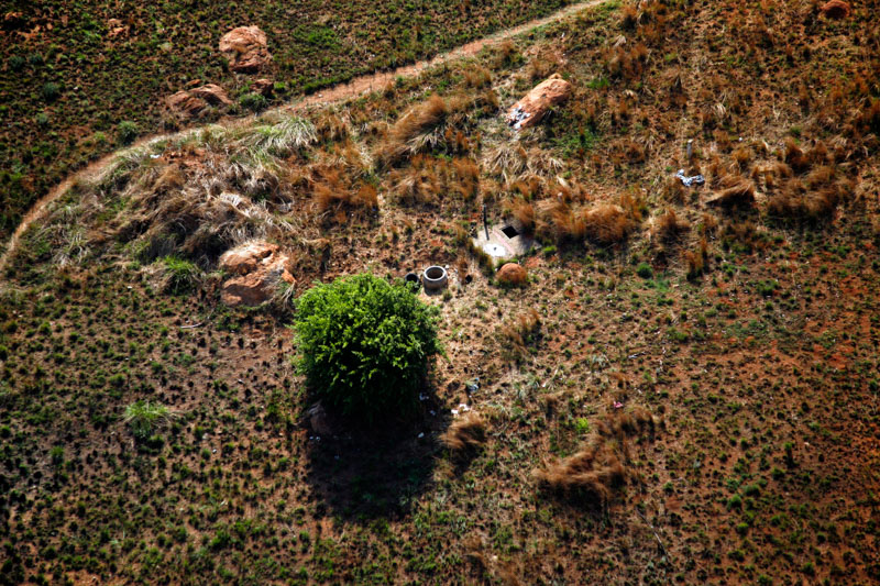 Paths #4: Reflections from Above. Clive Hassall, aerial photographer, Johannesburg, South Africa.