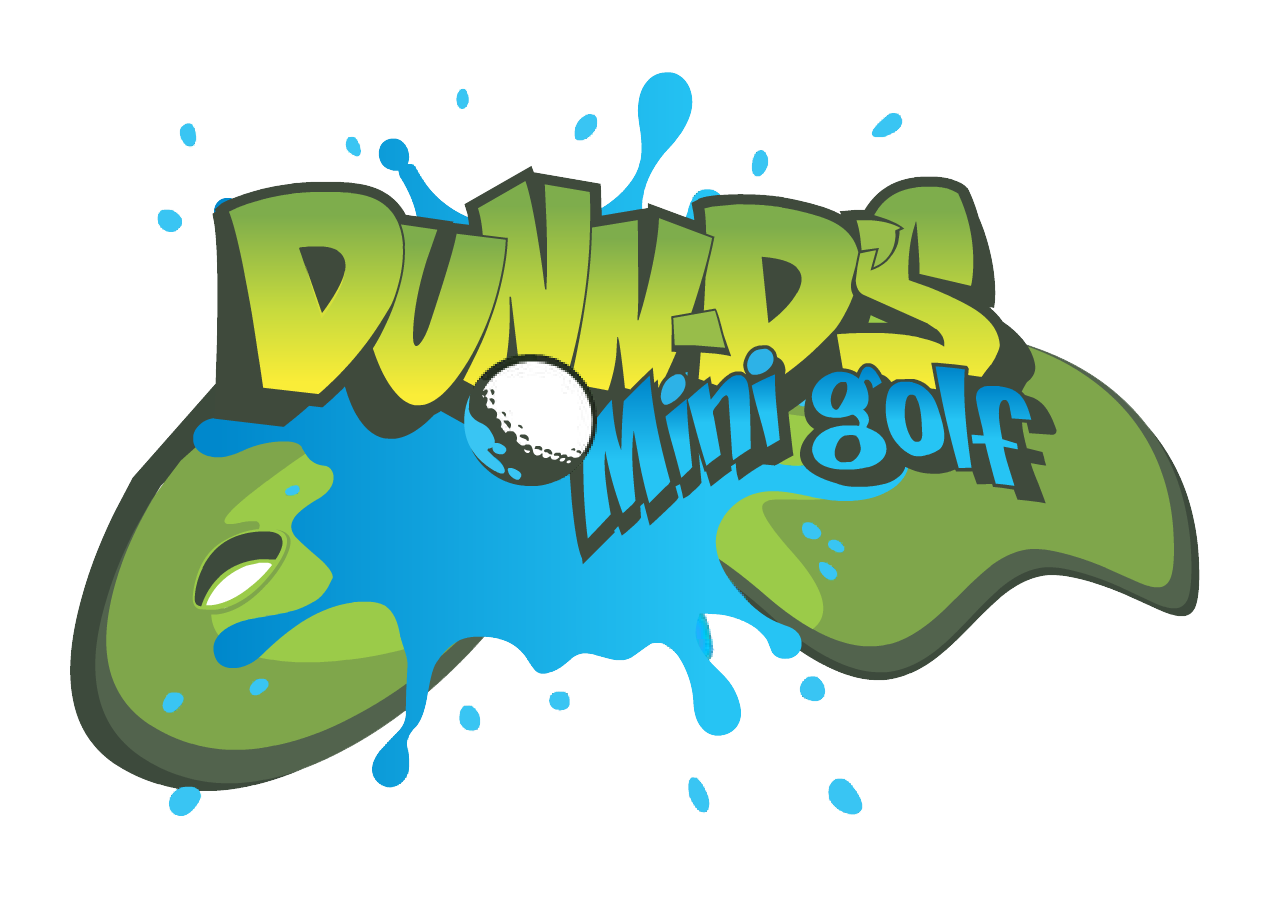 Dunn-D's Mini Golf Logo