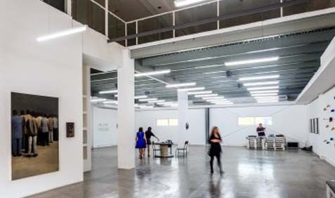 The Mine is a Art space based in UAE