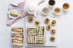 High Tea Catering &  Events Menu