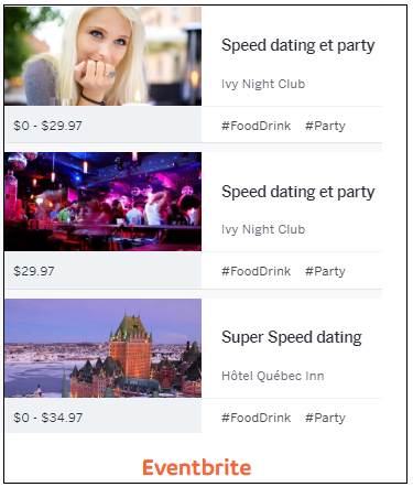 les entremetteurs speed dating Speed dating: use arrow keys to select your answer - speed dating is one of our selected arcade games play speed dating for free, and have fun.