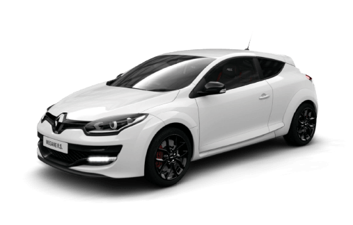 Renault Megane RS265 Sport. Engine Inline 4, 1998cc, Turbocharged. Power  265bhp At 5500rpm. Torque 360Nm At 3000rpm. Transmission 6 Speed Manual.  Weight N/A
