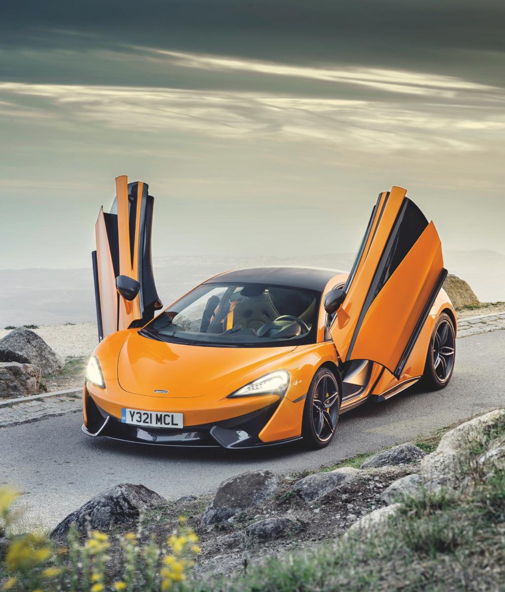 T H I S I S N O T A S U P E R C A R & McLaren 570S Review