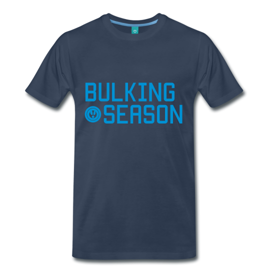 Bulking season t-shirt for gym or bodybuilding