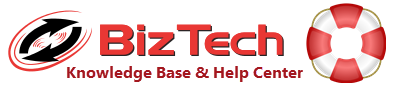 BizTech Help Center for VISUAL ERP or Technology Support