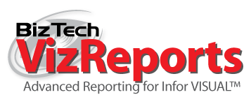 BizTech VizReports advanced reporting for Infor VISUAL