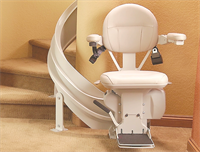 Bruno Elite Curve Stairlift