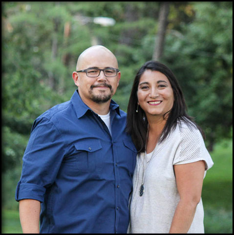 Portrait of Pastor Angel and Diane Flores