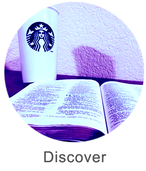 Button to go to discover page