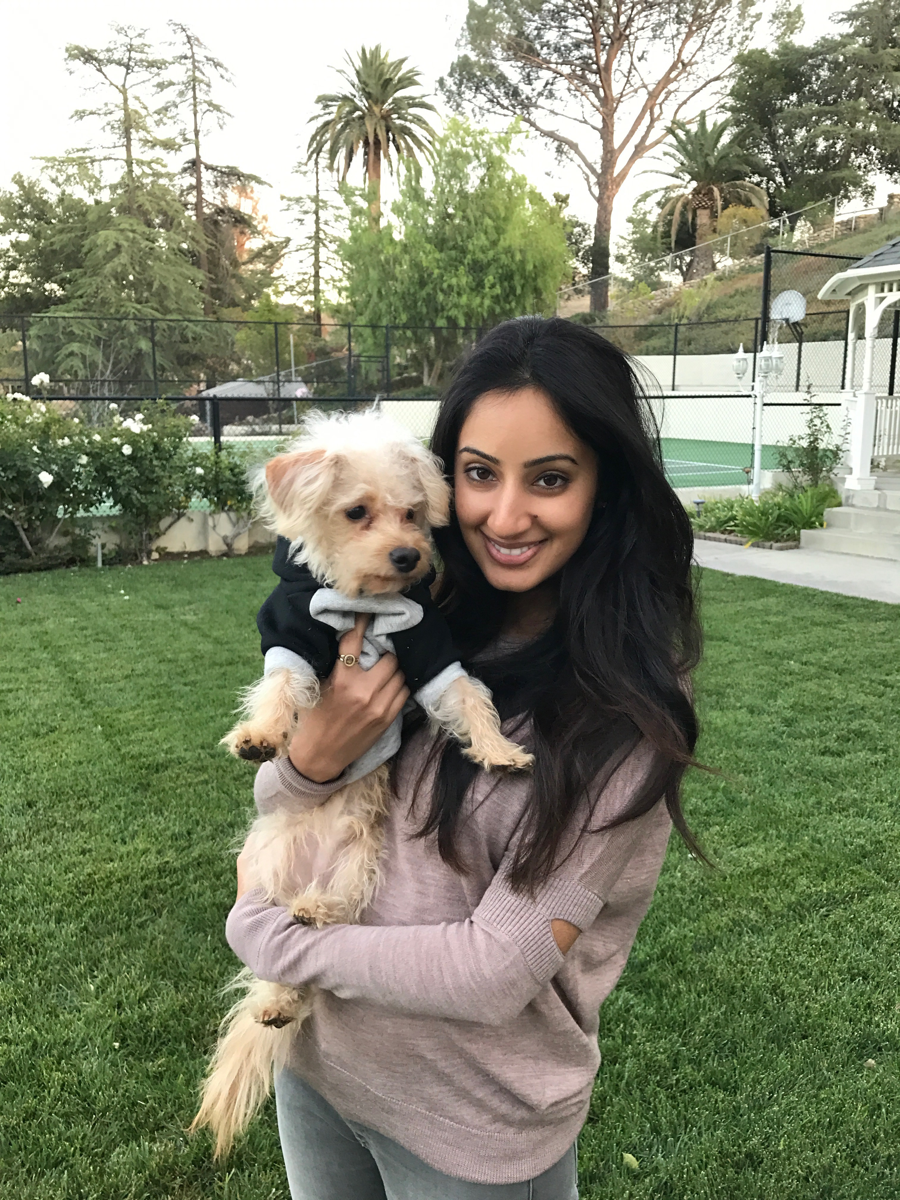 Rashi Khanna Wiese is co-owner of Happy Puppy L.A., which provides dog training and personalized dog care via Puppyland