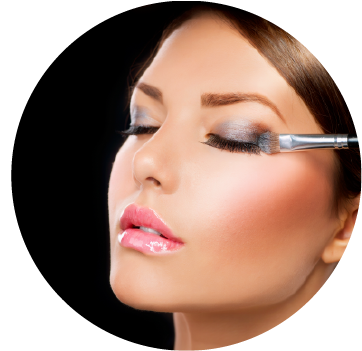 Makeup services in Mareeba includes glamour, evening, natural and trial makeup