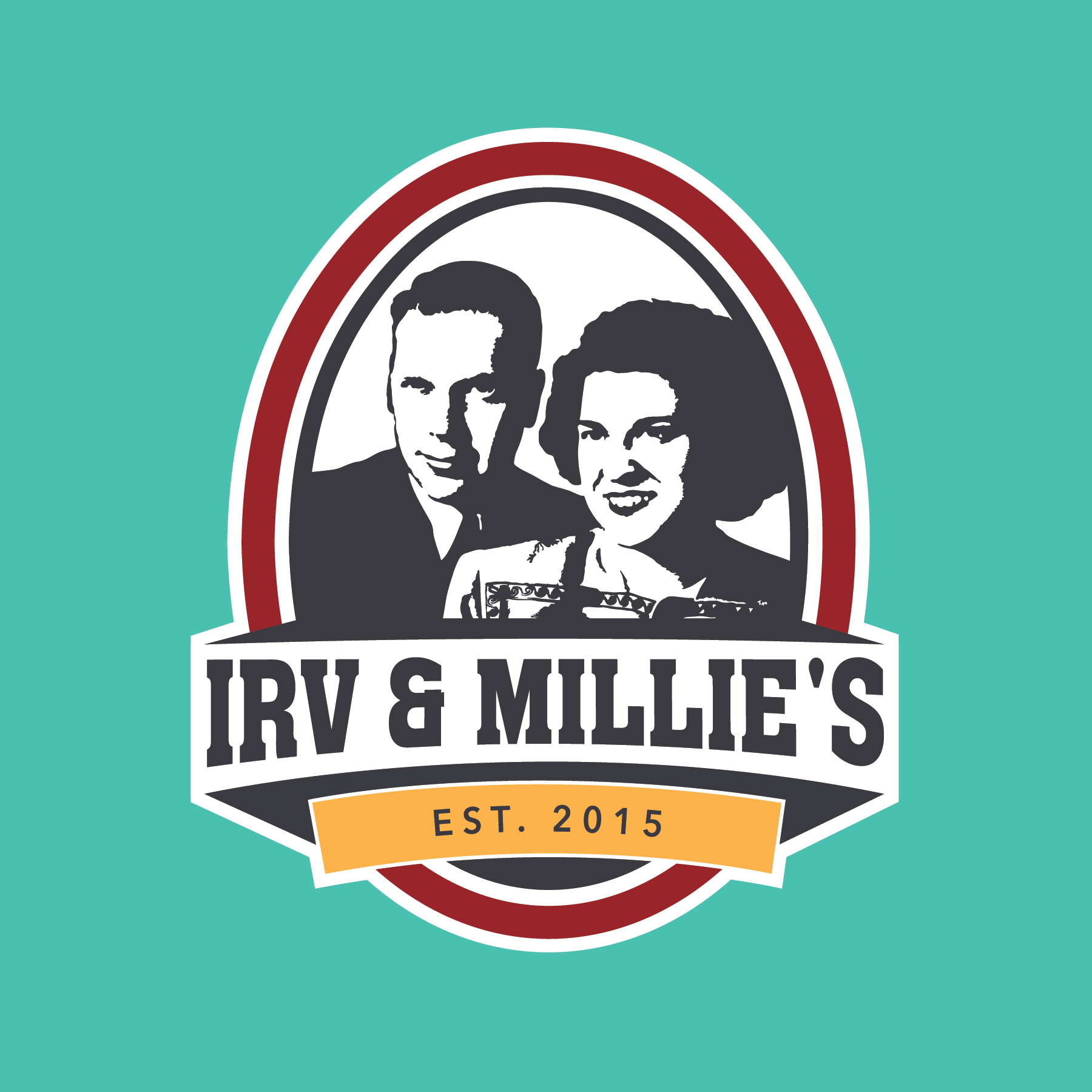 Irv and millies mead logo