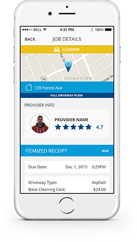 touchplow app screens