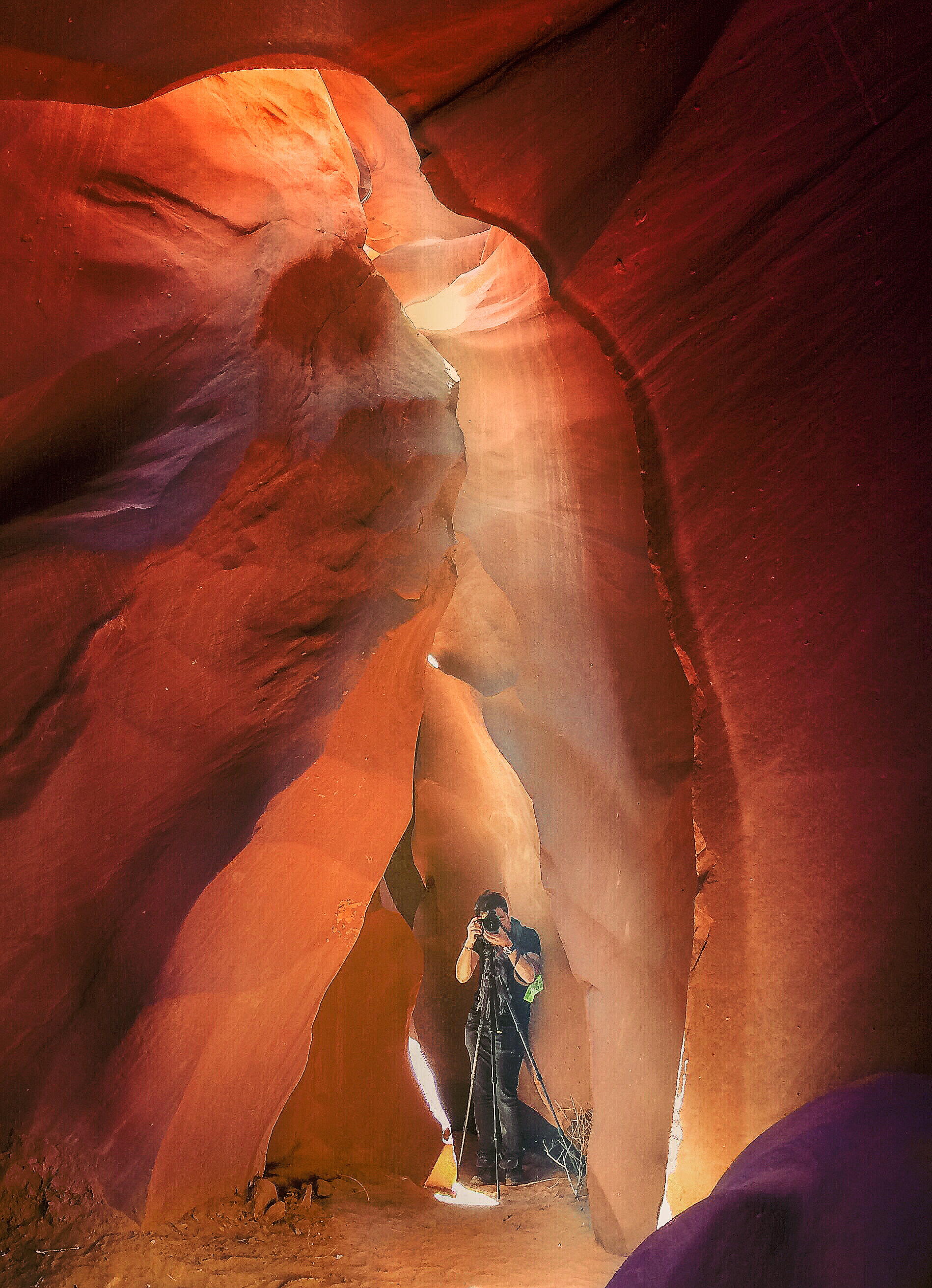 Jay Hsiang in Antelope Canyon