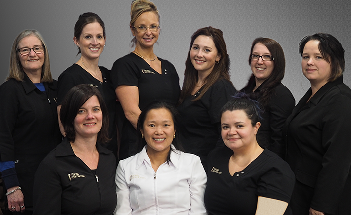 The Kanata Periodontics staff