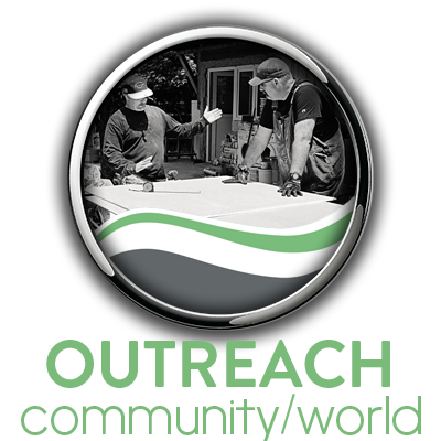 A link to our Outreach community which includes many additional services for your christian growth.