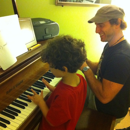 private piano lesson for kids