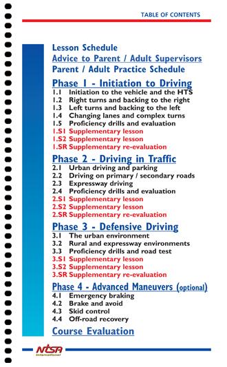 ntsa drivers ed in car manual can rh ntsa drivers ed com drivers ed manual practice test New York Driver Ed Manual