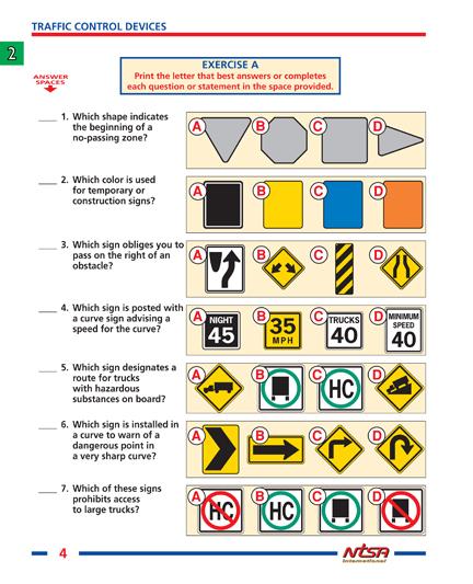 NTSA Drivers Ed - Workbook US