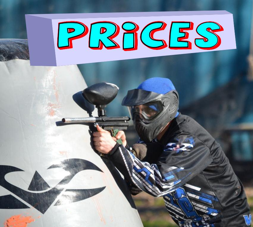 paintball arkansas prices