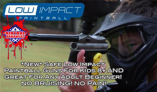 low impact paintball arkansas