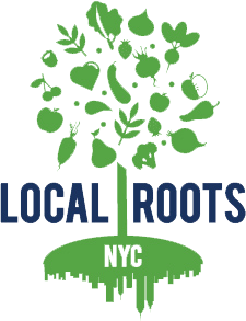 Local Roots NYC Logo, Greenpoint Brooklyn.