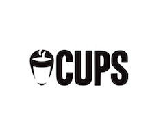 Cups App Logo, Greenpoint Brooklyn.